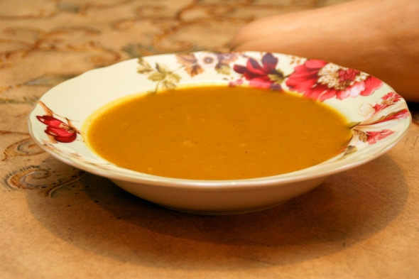 CookingwithMelody.com/Butternut Squash Soup