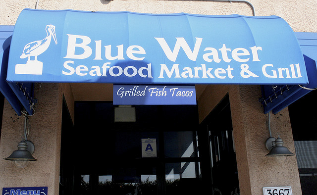 Cooking with melody blue water seafood market san for Blue water fish market