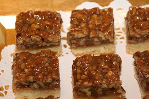 CookingwithMelody.com/Pecan Bars