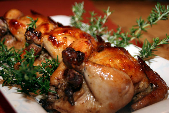 Cooking With Melody » Roasted Cornish Hens with Apricot Glaze