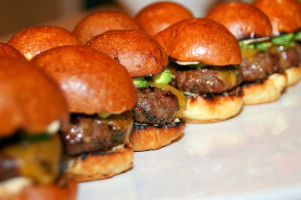 CookingwithMelody.com_Chipotle Burger Sliders