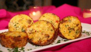 CookingwithMelody.com_Orzo, Sausage and Smoked Cheese Mini Frittatas