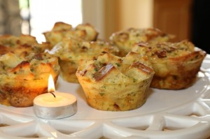 CookingwithMelody.com_Savory Bread Pudding Rolls