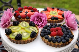 CookingwithMelody.com_Raw Fruit Tarts